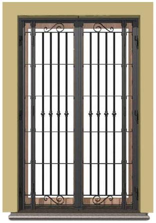 Soluzioni casa inferriate di sicurezza zanzariere - Modelli di zanzariere per porte finestre ...